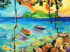 Barques à Terre-de-Haut BD